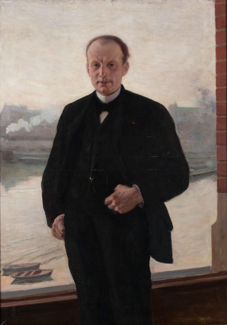 Louis Lefèvre-Utile Hippolyte Berteaux (1843-1928) 1899. Huile sur toile
