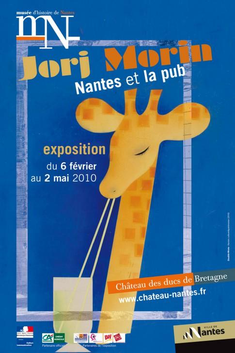 Affiche de l'exposition Jorj Morin