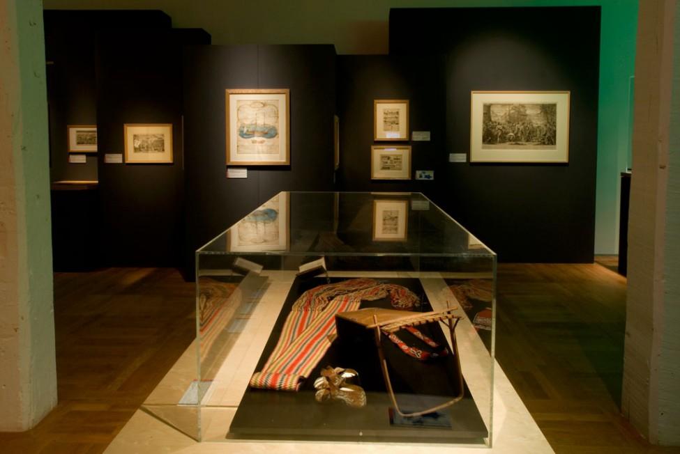 Scénographie de l'exposition France Nouvelle-France