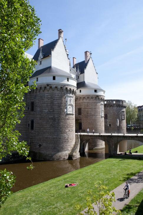 Entrée du Château des ducs de Bretagne