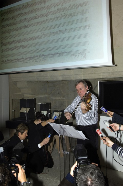 Concert dans le cadre de l'exposition Mozart au Château