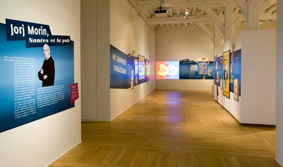 Scénographie de l'exposition Jorj morin
