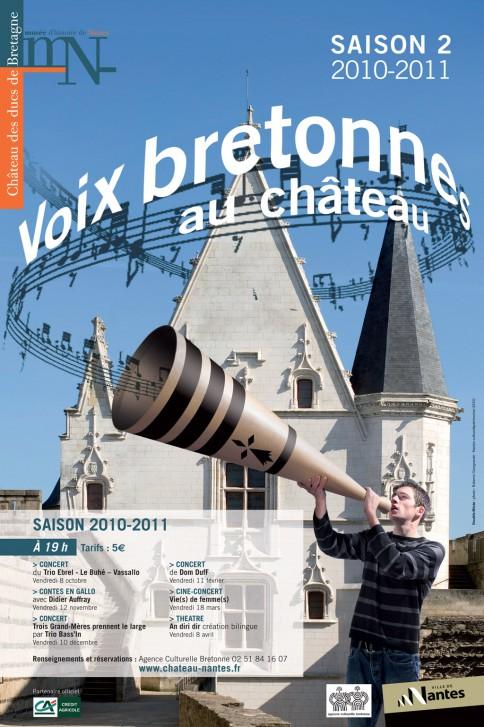 "Affiche ""Voix bretonnes"""