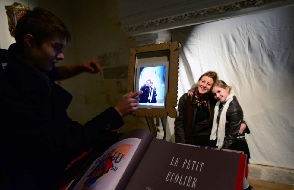 public lors de l'événement museomix