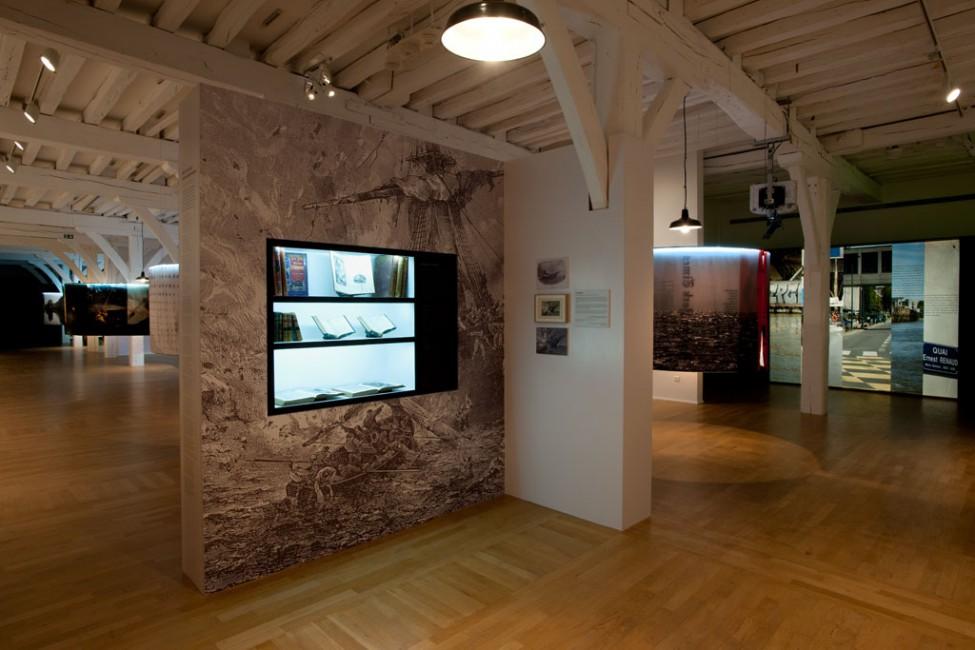 Scénographie de l'exposition Austria