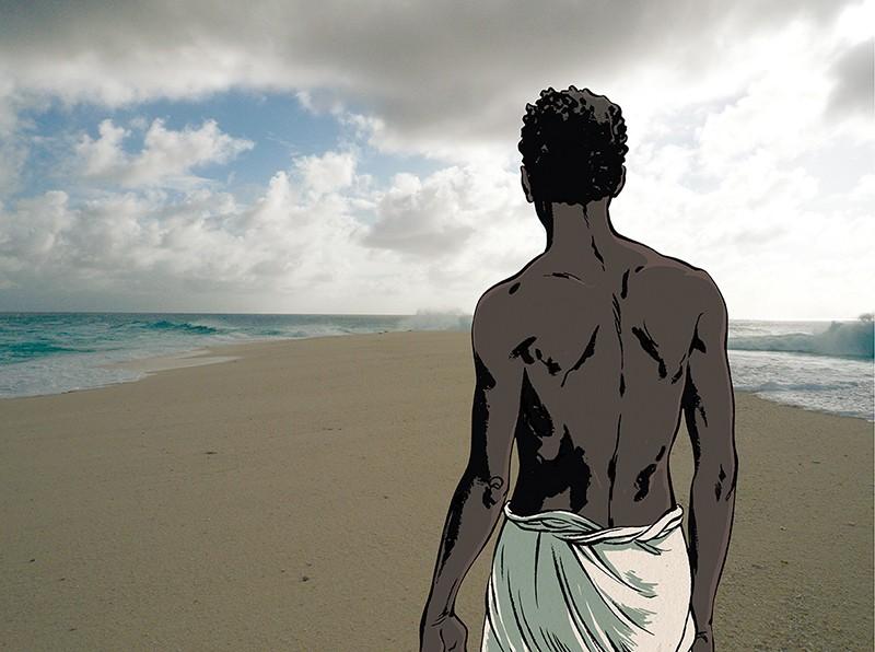 Illustration issue de la BD Tromelin