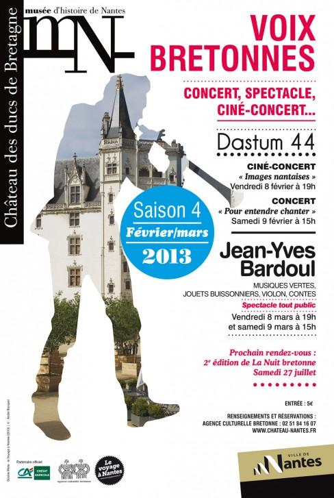Affiche des Voix bretonnes