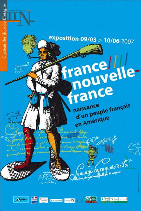 Affiche de l'exposition France Nouvelle France