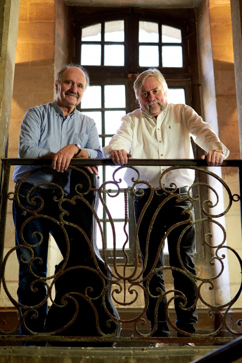 Roland Brou et Patrick Couton