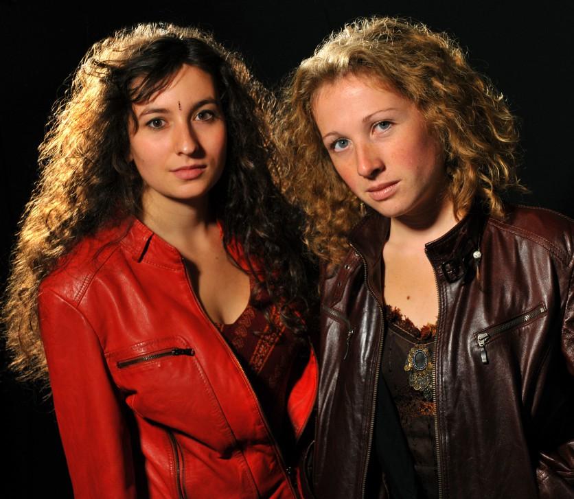 Rozenn Talec et Lina Bellard