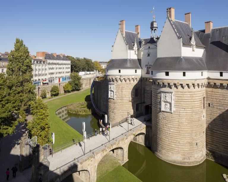 Château des ducs de Bretagne et pont dormant