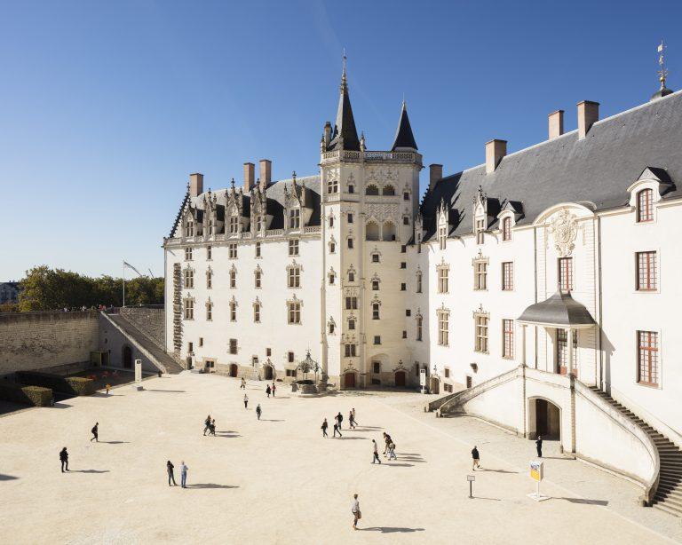 Cour du Château des ducs de Bretagne